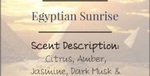 Egyptian Sunrise Candle