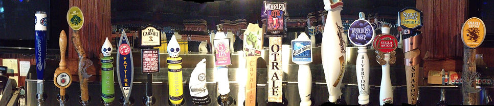 32 Tap handles at the Den!!