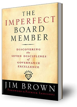 The Imperfect Board Member book by Jim Brown