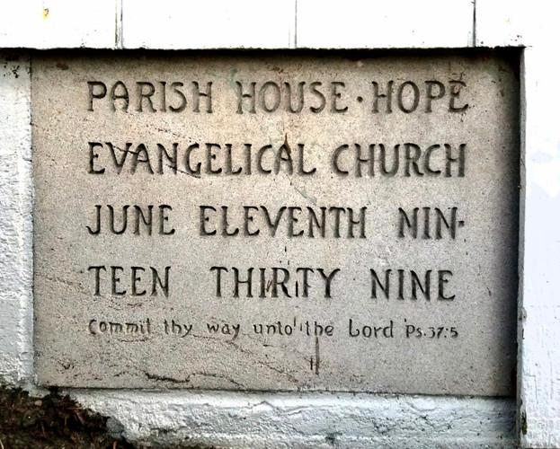 1939 Hope Evangelical Church