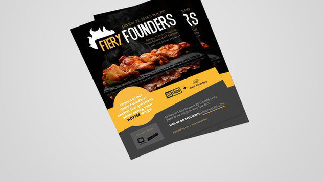 Fiery Founders Event Logo Design