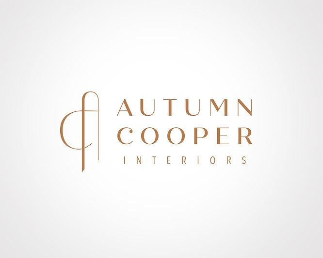 Autumn Cooper Interiors logo design