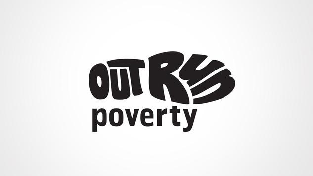 Outrun Poverty Logo Design