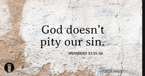 The Evil of Pitying Sin