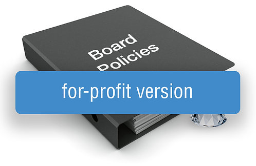GEM Board Policy Template (For-Profit Version)