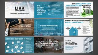 LIKK Tech Investor Powerpoint Deck Design