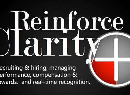 Reinforce Clarity