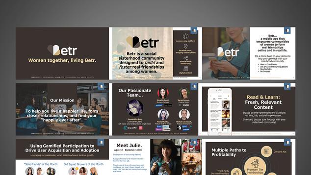Betr Investor Presentation Design