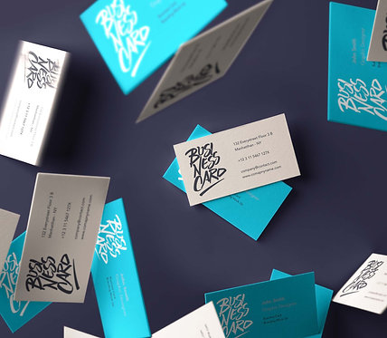 TRY US Business Cards