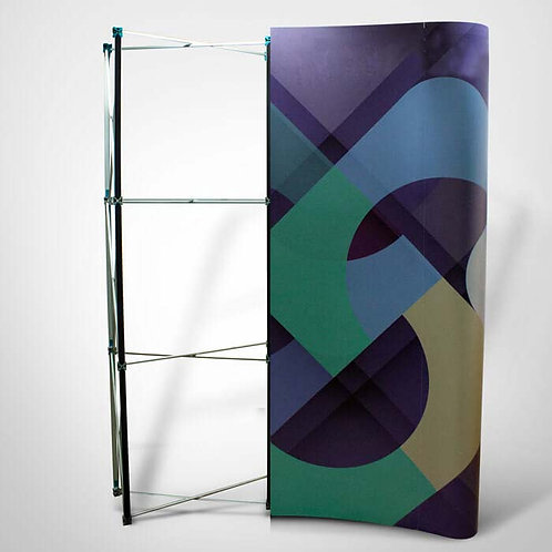 Rigid Display Stand Frame and Graph