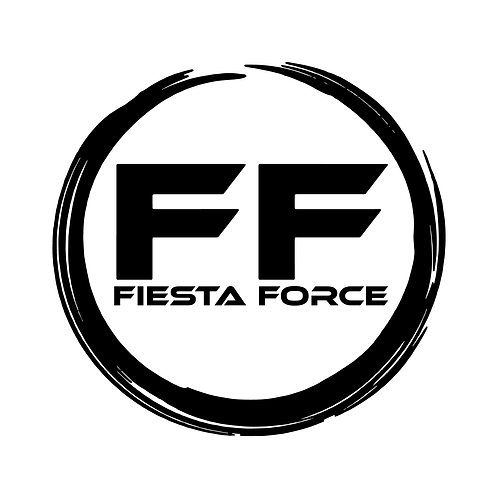 Fiesta Force Club Sticker - Round