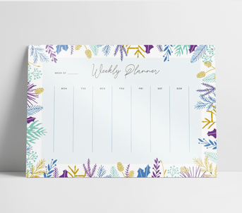 Printed Non-Magnetic Whiteboard