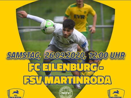 Erste Mannschaft - auf zum 5. Oberliga-Spiel 2020/21