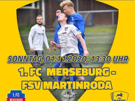 Erste Mannschaft mit Auswärtsspiel gegen den 1. FC Merseburg