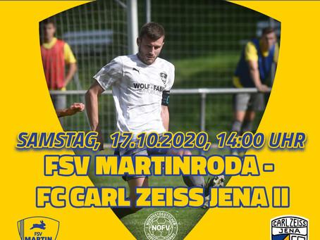 NOFV Oberliga Süd FSV Martinroda - FC Carl-Zeiss Jena II 1-1 (0-0)