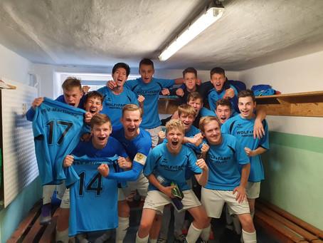 A-Junioren erreichen Pokalhalbfinale
