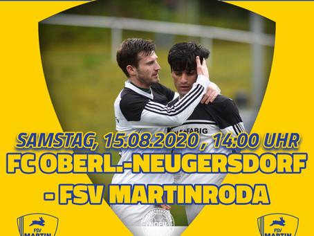 Oberligaauftakt Saison 2020/21 - SC Oberlausitz Neugersdorf - FSV Martinroda 2-0 (0-0)