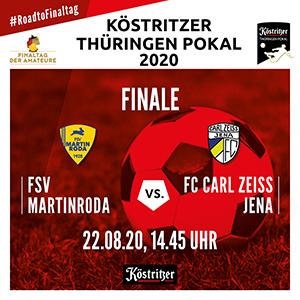 Ticketverkauf für das Thüringenpokal Endspiel findet am Donnerstag im Sportpark statt