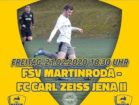 Oberliga // FSV Martinroda - Carl Zeiss Jena II