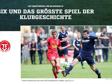 Justus Six im Interview mit fussball.de
