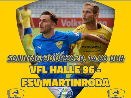 Spielbericht Vfl Halle 96 - FSV Martinroda 3-0 (2-0)