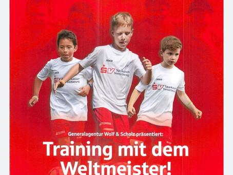 Fußballcamp mit Weltmeister Guido Buchwald