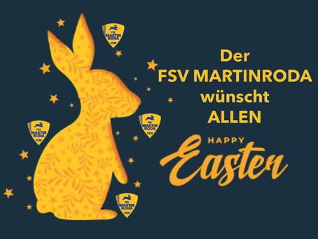 Der FSV Martinroda wünscht frohe Ostern