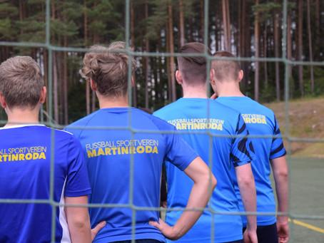 Trainingsbeginn der G- bis C-Junioren und Schnelltests im Sportpark