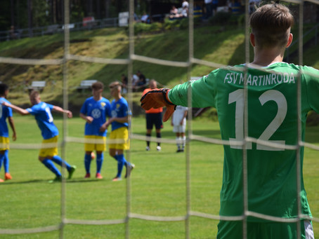 B-Junioren testen gegen SpVgg Bayern Hof 2.
