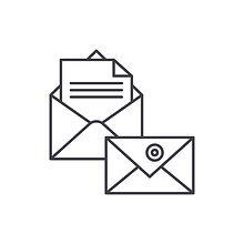 correspondence-line-icon-concept-vector-