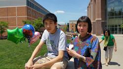 Alex Bi and Shu Qiu