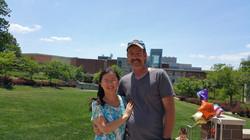 Helen Wang and Michael Waters