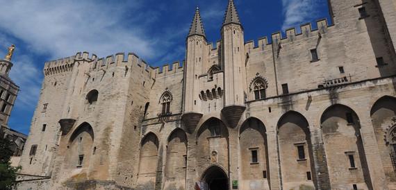 Palácio dos Papas – Avignon, França