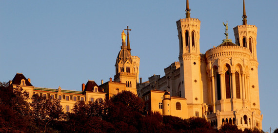 Basílica de Notre-Dame de Fourvière – Lyon, França