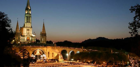 Procissão das velas - Lourdes