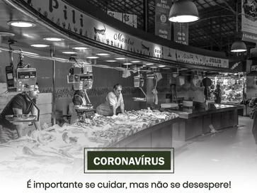 Coronavírus: não se desespere!