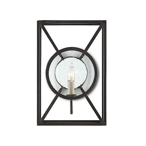 Mirrored Iron Open Boxed Wall Sconce Modern Old Iron Sconce