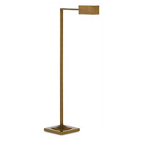Antique Brass Modern Floor Lamp|Minimalist Floor Lamp|Reading Floor Lamp