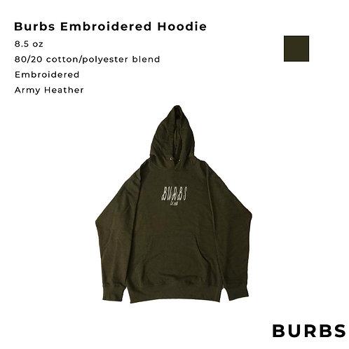 Burbs Embroidered Hoodies