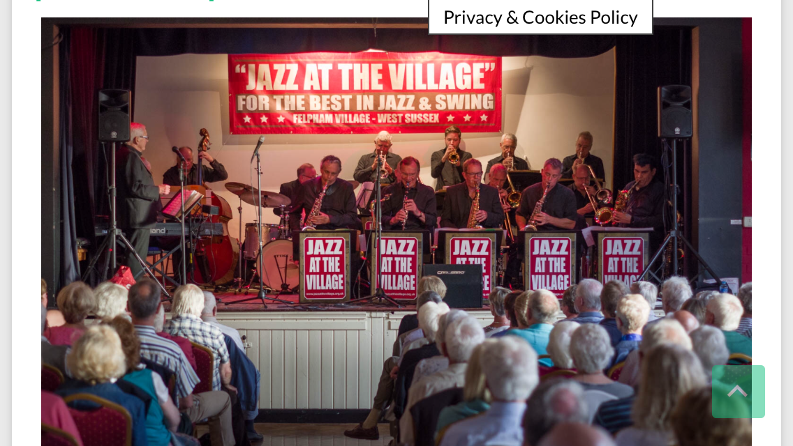 Jazz at the Village Big Band, Bognor Regis