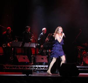 Playing Debra Stephenson's Night of 100 Voices, Hull City Hall, November 2018