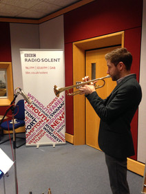Early morning performance at BBC Radio Solent