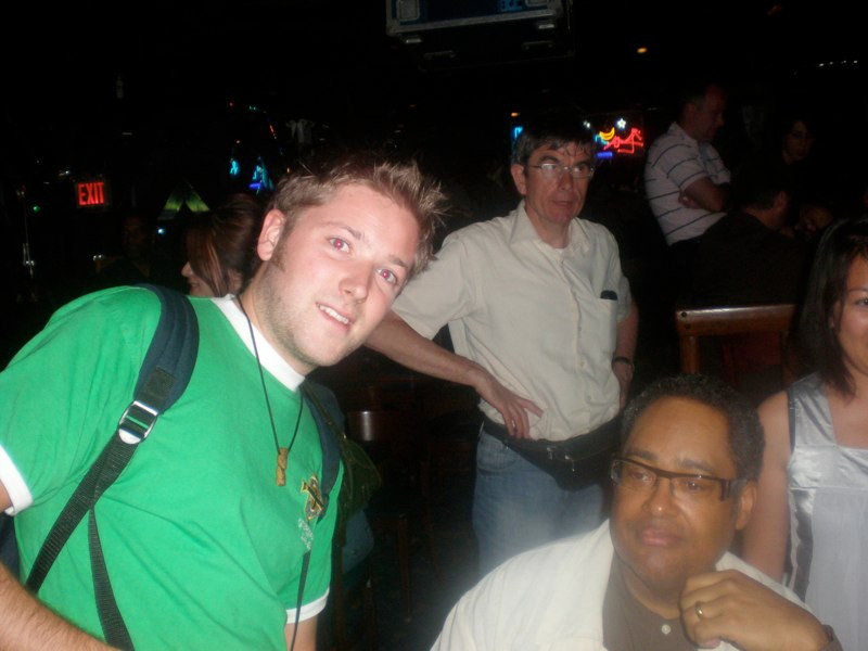 meeting Jon Faddis, Blue Note NYC