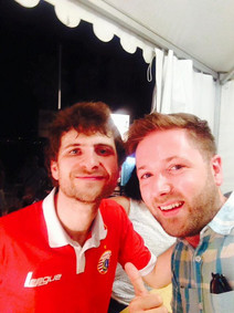 with Michael League of Snarky Puppy