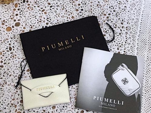 piumelliカードケース -white-