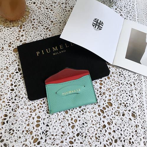 piumelliカードケース-Emerald-