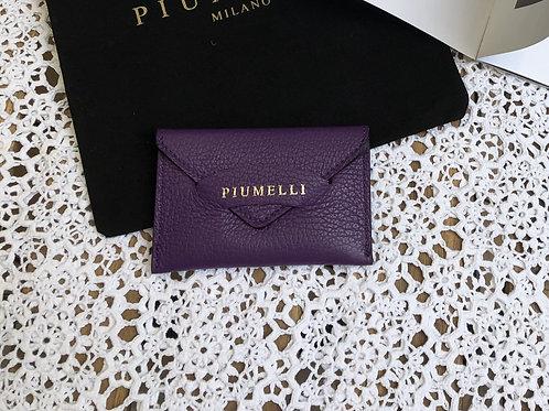 piumelliカードケース-purple-