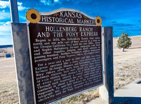 Hollenberg Pony Express Station: Kansas