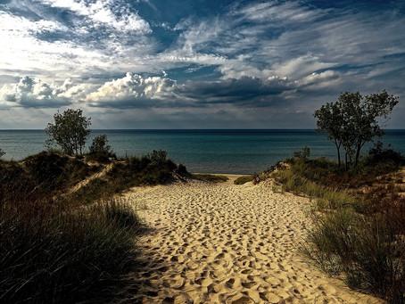 The Indiana Dunes Lakeshore