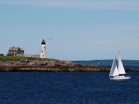 Wood Island Lighthouse: Maine
